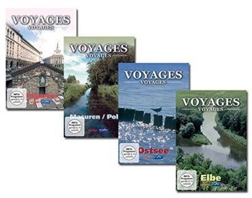 Voyages-Voyages Package 2 (4 DVDs)