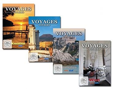 Voyages-Voyages Package 3 (4 DVDs)