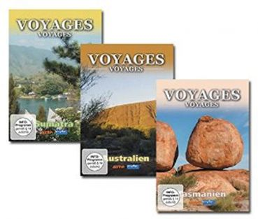 Voyages-Voyages Package 8 (4 DVDs)