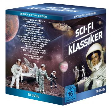 Sci-Fi-Box (8 Doppelboxen + Sexmission + SSX7 Panik im All) [18 DVDs]